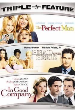 Perfect Man/Head Over Heels/In Good Company DVD Cover Art