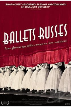 Ballets Russes DVD Cover Art