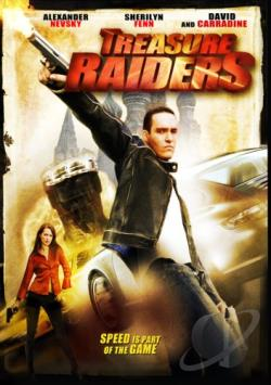 Treasure Raiders DVD Cover Art