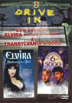 Elvira, Mistress Of The Dark/Transylvania 6-5000 DVD Cover Art