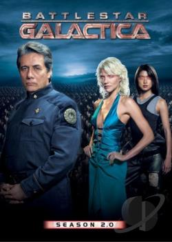 Battlestar Galactica - Season 2.0 DVD Cover Art
