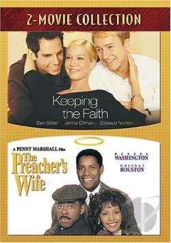 Keeping the Faith/The Preacher's Wife DVD Cover Art
