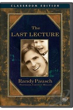 Randy Pausch - The Last Lecture DVD Cover Art