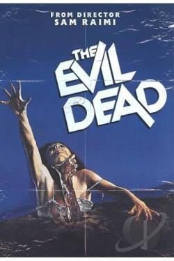 Evil Dead DVD Cover Art