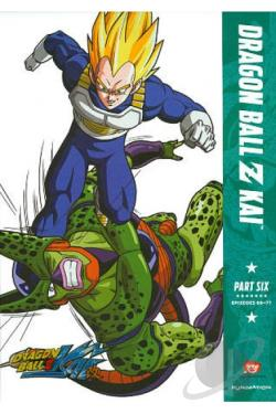 DragonBall Z Kai: Part Six DVD Cover Art