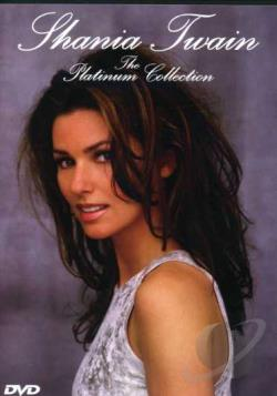 Shania Twain - The Platinum Collection DVD Cover Art