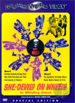 She-Devils on Wheels DVD Cover Art