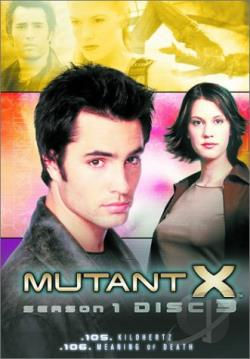 Mutant X - Season 1: Vol. 3 DVD Cover Art