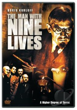 Man With Nine Lives DVD Cover Art