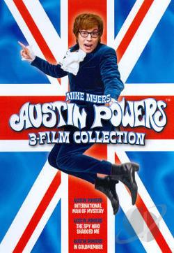 Austin Powers Collection DVD Cover Art