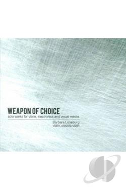 Barbara Luneburg: Weapon of Choice DVD Cover Art
