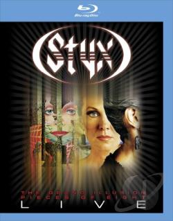 Styx: The Grand Illusion/Pieces of Eight - Live BRAY Cover Art
