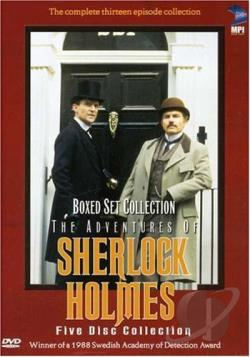 Adventures of Sherlock Holmes - Vols. 1-5 DVD Cover Art