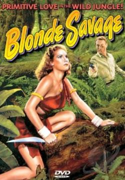 Blonde Savage DVD Cover Art
