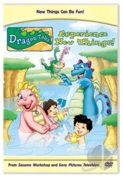 Dragon Tales - Experience New Things DVD Cover Art