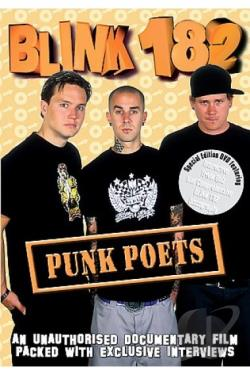 Blink 182 - Punk Poets DVD Cover Art