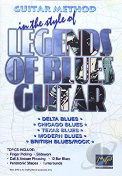 Guitar Method in the Style of Legends of Blues Guitar DVD Cover Art