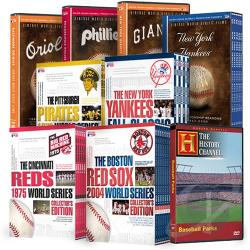 Major League Baseball Parks And Teams DVD Cover Art