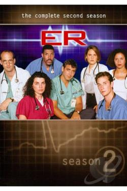 ER - The Complete Second Season DVD Cover Art