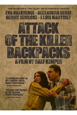 Attack of the Killer Backpacks DVD Cover Art