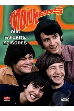 Monkees, The - Our Favorite Episodes DVD Cover Art