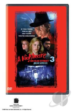 Nightmare on Elm Street 3 - Dream Warriors DVD Cover Art