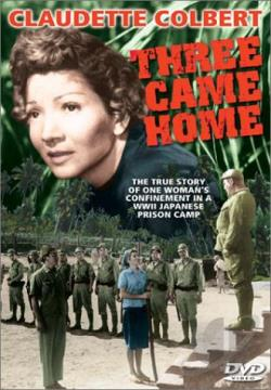 Three Came Home DVD Cover Art
