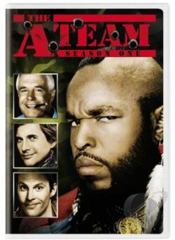A-Team - Season 1 DVD Cover Art