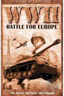 WW II: Battle for Europe DVD Cover Art