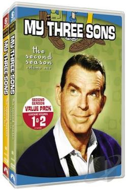 My Three Sons: The Second Season DVD Cover Art