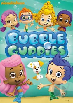 Bubble Guppies: Bubble Puppy DVD Cover Art