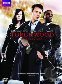 Torchwood: Miracle Day DVD Cover Art