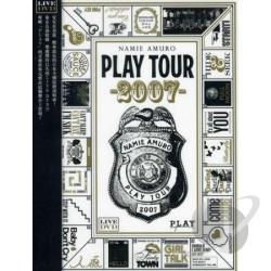 Namie Amuro: Play Tour 2007 DVD Cover Art