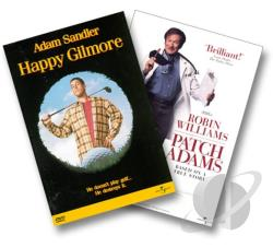 Happy Gilmore/Patch Adams DVD Cover Art