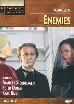 Broadway Theatre Archive - Enemies DVD Cover Art