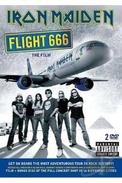 Iron Maiden - Flight 666: The Film DVD Cover Art