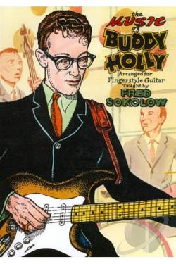 Fred Sokolow: The Music of Buddy Holly Arranged for Fingerstyle Guitar DVD Cover Art