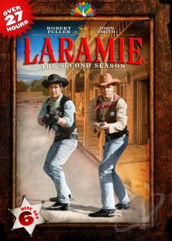 Laramie - The Complete Second Season DVD Cover Art