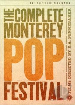 Complete Monterey Pop Festival DVD Cover Art