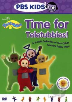 Teletubbies - Time For Teletubbies DVD Cover Art