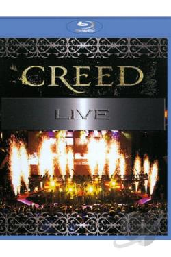 Creed: Live BRAY Cover Art