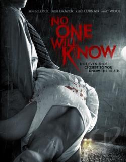 No One Will Know DVD Cover Art