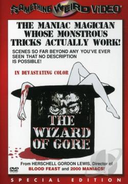 Wizard of Gore DVD Cover Art