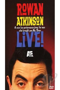 Rowan Atkinson Live DVD Cover Art