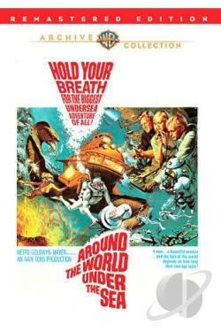 Around the World Under the Sea DVD Cover Art