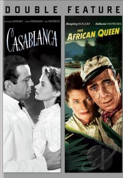 Casablanca/The African Queen DVD Cover Art