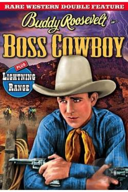 Rare Western Double Feature: Boss Cowboy/Lightning Range DVD Cover Art