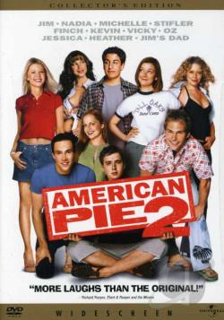 American Pie 2 DVD Cover Art