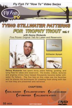 Fly Fish TV: Tying Stillwater Patterns For Trophy Trout, Vol. 1 DVD Cover Art