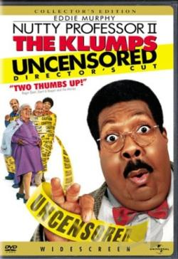 Nutty Professor II: The Klumps DVD Cover Art